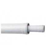 Коаксиальное удлинение ПП, диам.110/160 мм, длина 1,0 м, НТ